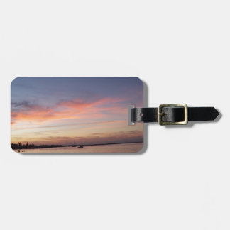 Sunset over Florida Bay, Key Largo FL Luggage Tag