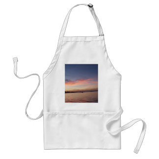 Sunset over Florida Bay, Key Largo FL Standard Apron