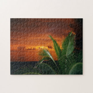 Sunset over Gulf, puzzle