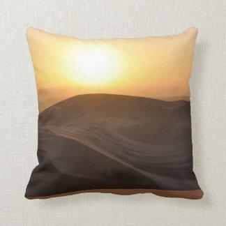 Sunset over Huacachina Throw Pillow