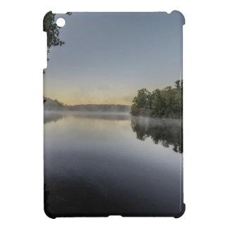 Sunset over lake cover for the iPad mini