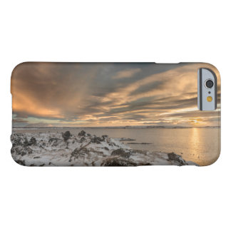 Sunset over lake Myvatn, Iceland Barely There iPhone 6 Case