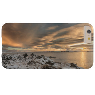 Sunset over lake Myvatn, Iceland Barely There iPhone 6 Plus Case