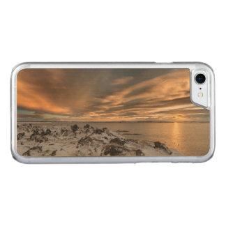 Sunset over lake Myvatn, Iceland Carved iPhone 7 Case