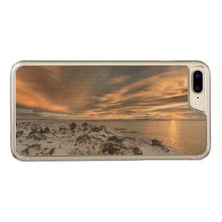 Sunset over lake Myvatn, Iceland Carved iPhone 7 Plus Case