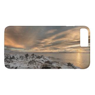 Sunset over lake Myvatn, Iceland iPhone 7 Plus Case