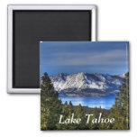 Sunset Over  Lake Tahoe California  Magnet
