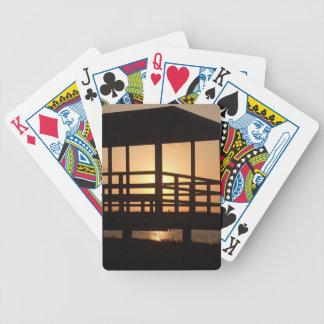 Sunset Over Little Bay Poker Deck