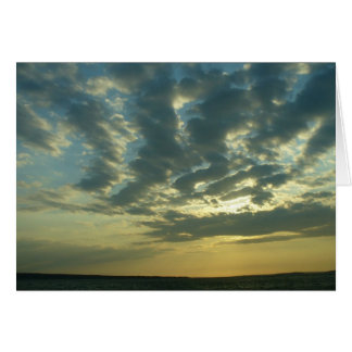 Sunset Over Long Beach, Sag Harbor Card