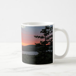 'Sunset Over Long Pond' Coffee Mug