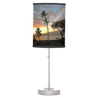 Sunset over Maalaea Bay, Maui Table Lamp