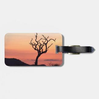Sunset over Madikwe Luggage Tag
