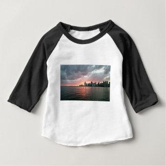 Sunset over Miami Baby T-Shirt