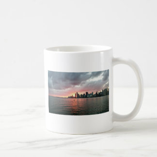 Sunset over Miami Coffee Mug
