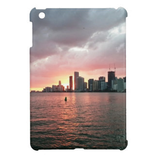 Sunset over Miami iPad Mini Case