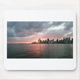 Sunset over Miami Mouse Pad