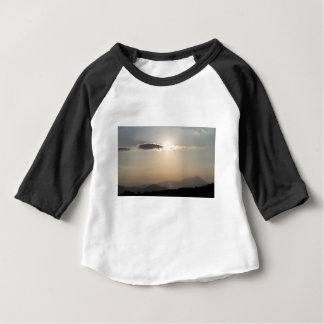 Sunset over mountains baby T-Shirt