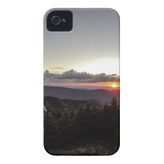 sunset over mountains iPhone 4 Case-Mate case