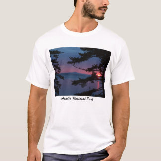 Sunset over Mt. Desert Island T-Shirt