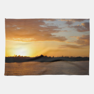 Sunset Over Sanibel Hand Towel
