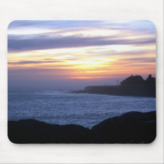 Sunset over Santa Cruz Mouse Pad