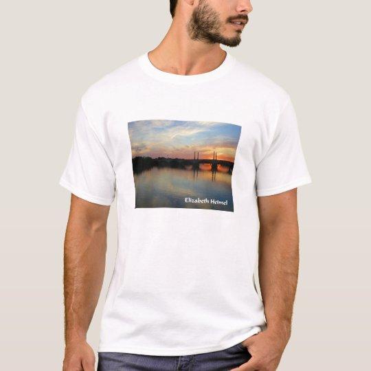 Sunset over Springfield, MA T-Shirt