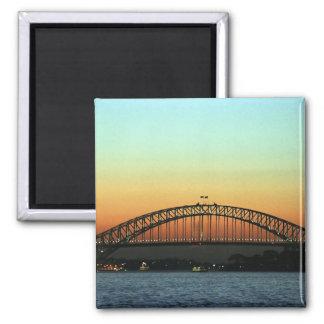 Sunset over Sydney Harbor Bridge, Australia Magnet