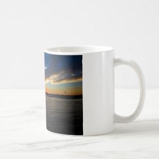 Sunset over the Bay Coffee Mug