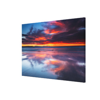 Sunset over the Channel Islands, CA Canvas Print