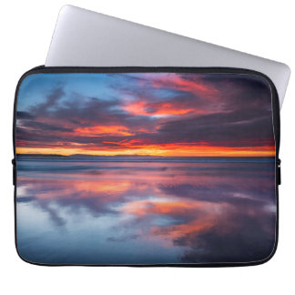 Sunset over the Channel Islands, CA Laptop Sleeve