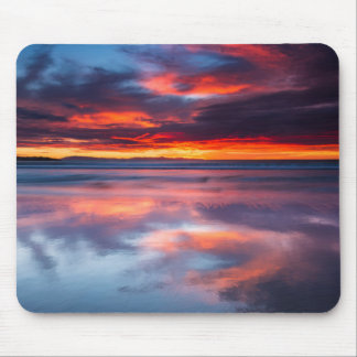 Sunset over the Channel Islands, CA Mouse Pad