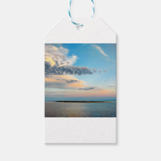Sunset over the Island Gift Tags