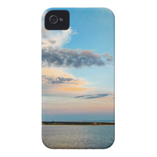 Sunset over the Island iPhone 4 Cases