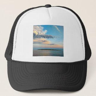 Sunset over the Island Trucker Hat