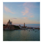 Sunset Over the Lagoon, Venice, ITALY Poster