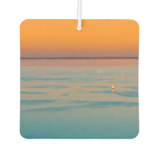 Sunset over the lake Balaton, Hungary Air Freshener