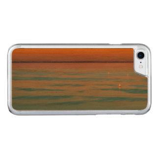 Sunset over the lake Balaton, Hungary Carved iPhone 7 Case
