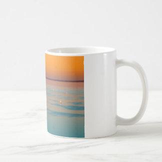 Sunset over the lake Balaton, Hungary Coffee Mug