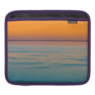 Sunset over the lake Balaton, Hungary iPad Sleeve