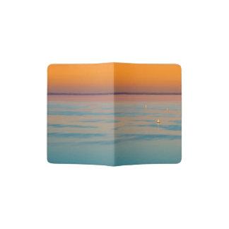 Sunset over the lake Balaton, Hungary Passport Holder