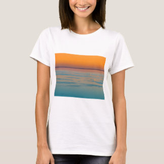 Sunset over the lake Balaton, Hungary T-Shirt