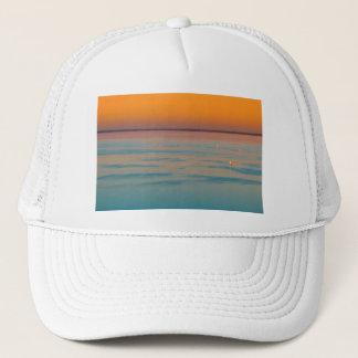Sunset over the lake Balaton, Hungary Trucker Hat
