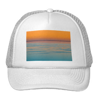 Sunset over the lake Balaton, Hungary Trucker Hat