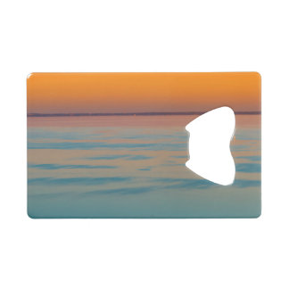 Sunset over the lake Balaton, Hungary Wallet Bottle Opener