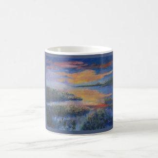 Sunset Over the Marsh Coffee Mug