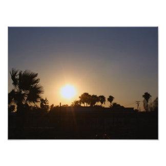 Sunset Over the Mirador Photograph