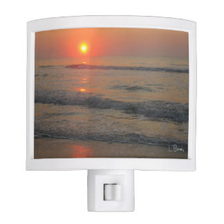 Sunset over the Ocean Nite Lite