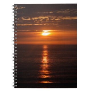 Sunset Over the Pacific Notebooks
