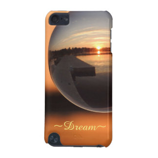 Sunset Over Water Crystal Ball - Dream iPod Touch 5G Cover