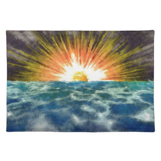Sunset Over Water Placemat